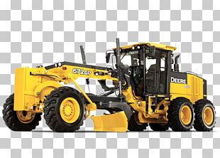 John Deere Bulldozer Grader Architectural Engineering Heavy Machinery PNG