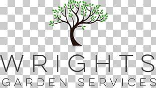 Wrights Garden Services Logo Gardening Lawn PNG