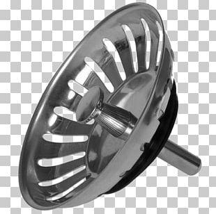 Sink Plug Modern Stainless Steel PNG
