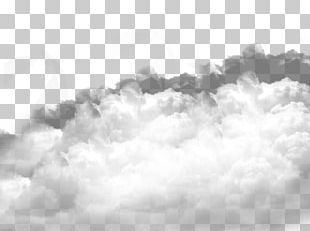 White Cloud Grey Overcast PNG