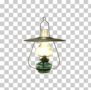 Kerosene Lamp Light Fixture Oil Lamp PNG