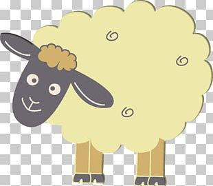 Sheep Cattle Goat Drawing Cartoon PNG