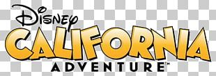 Disney California Adventure Logo PNG
