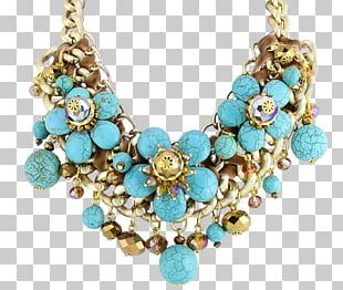 Turquoise Necklace Earring Jewellery Charms & Pendants PNG