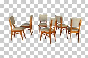 Table Chair Furniture Wood Fauteuil PNG