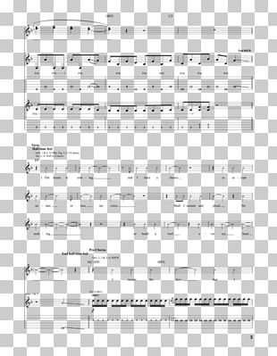 Document Line Sheet Music Angle PNG