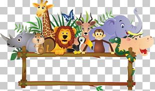 Baby Jungle Animals PNG