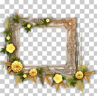 Floral Design Frames Painting Art Painter PNG