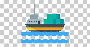 Freight Transport Cargo Ship PNG
