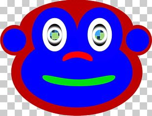 Smiley Curious George Monkey Cartoon PNG