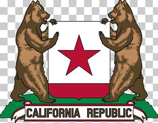 California Republic Bear Coat Of Arms Flag Of California PNG