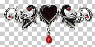 Tiara Heart Headband Choker Fantasy PNG