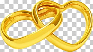 Wedding Ring Heart PNG