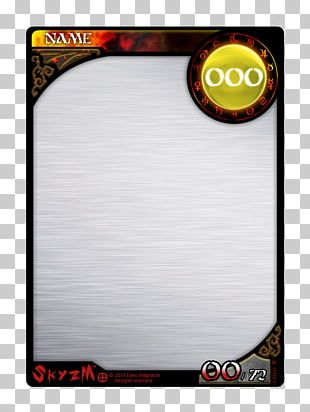 Template Collectable Trading Cards Playing Card Player Artist Trading Cards PNG