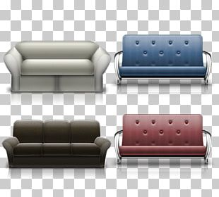 Couch Chair Sofa Bed Icon PNG