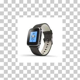 Pebble Time Steel Pebble STEEL Smartwatch PNG