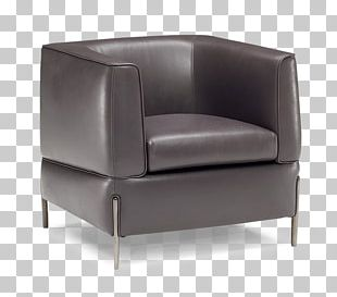 Club Chair Natuzzi Wing Chair Couch PNG