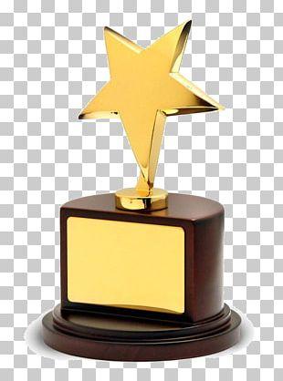 Award Trophy Commemorative Plaque Gold Medal PNG