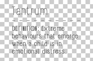 Tantrum Child Document Emotion Handwriting PNG