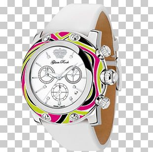 Watch Glam Rock Fashion Chelsea Brentwood Strap PNG