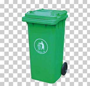 Bin Recycling Green PNG