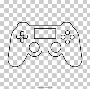 PlayStation Drawing Game Controllers Line Art Video Game PNG