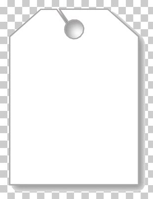 Paper Car White Swing Tag Mirror PNG