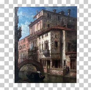 Middle Ages Facade Medieval Architecture Historic Site Painting PNG