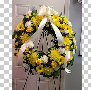 Cut Flowers Wreath Floral Design Floristry PNG