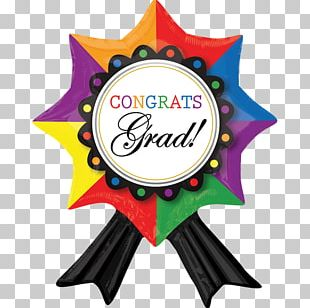 Mylar Balloon Graduation Ceremony Ribbon Gift PNG