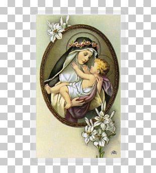 Holy Card Patron Saint Catholicism Prayer PNG
