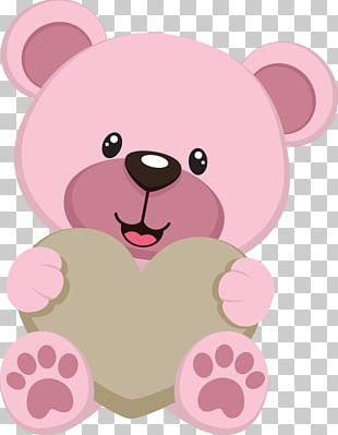 Teddy Bear Baby Bears Drawing PNG