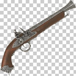 Flintlock Pistol Firearm Musket Gun Barrel PNG
