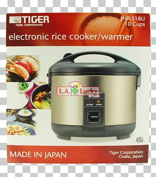 Rice Cookers Tiger Corporation Slow Cookers Home Appliance Cookware PNG