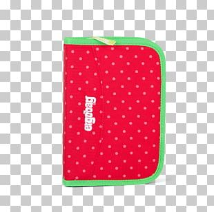 Red Pen & Pencil Cases Backpack Satchel PNG
