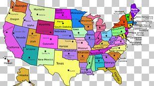 U.S. State Missouri Map PNG