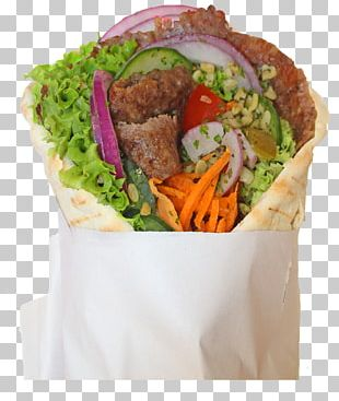 Vegetarian Cuisine Kebab Fast Food Pita Junk Food PNG