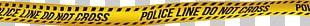 Yellow Organism Tape Measure Font PNG