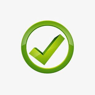 Green Check Mark Icon PNG
