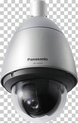 IP Camera Panasonic WV-SW598 Outdoor Super Dynamic 1080P HD PTZ Camera Closed-circuit Television Pan–tilt–zoom Camera PNG