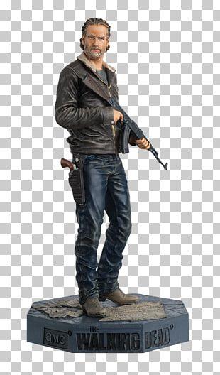 Rick Grimes Figurine Rosita Espinosa Model Figure PNG