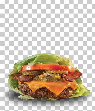 Hamburger Lettuce Sandwich Wrap Veggie Burger Fast Food PNG