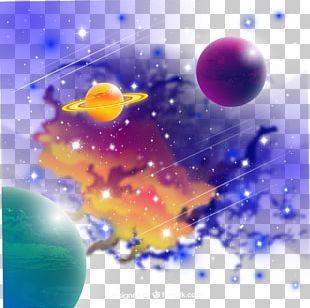 Planet Universe Nebula PNG
