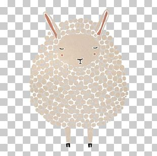 Sheep Paper Printing Poster Illustration PNG