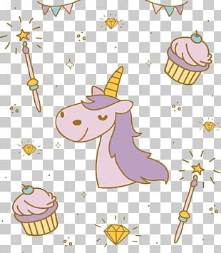 The Black Unicorn Drawing PNG