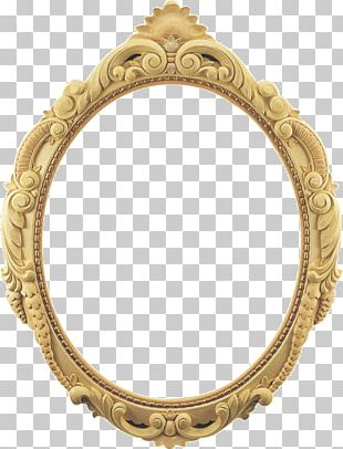 Frames Ornament Mirror Wood Carving PNG