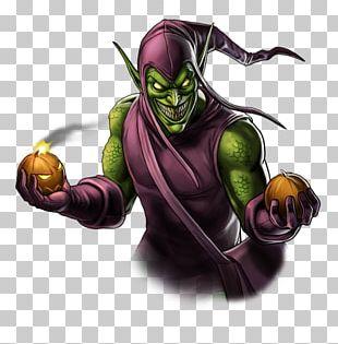 Spider-Man Green Goblin Supervillain Iron Man PNG