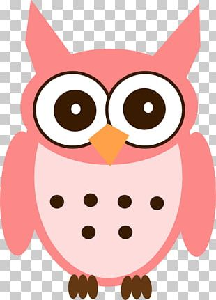 Owl Pink PNG