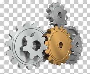 Gear 3D Computer Graphics Symbol PNG