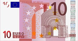 10 Euro Note Euro Banknotes 500 Euro Note PNG